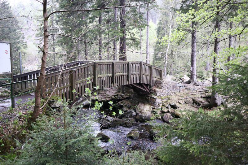 Brücke zur Verlobungsinsel