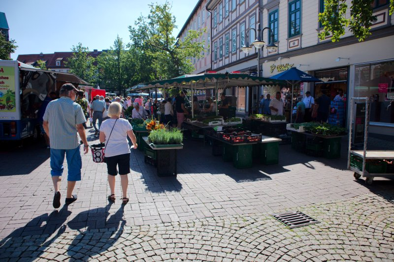 Osterode Wochenmarkt